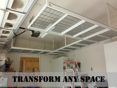 Great Overhead Garage Storage Racks By Overhead Storage Of Phoenix